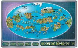 Alpha Centauri IV surface