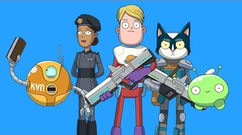 FINAL SPACE - Cartoon Pilot -