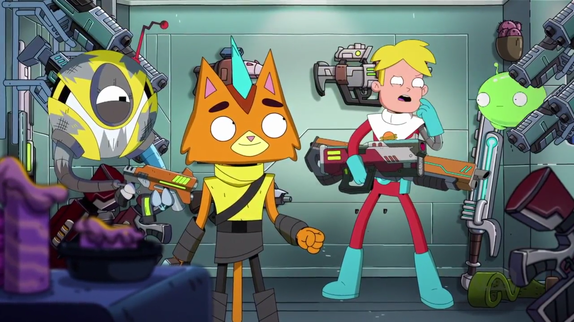 Chapter 7 final space wiki fandom powered by wikia - Final space wallpaper ...