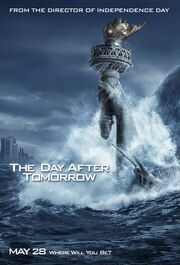 The Day after Tommorow movie poster