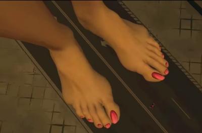 Candice Ellen Wroe Feet