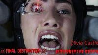 Final Destination 5- Olivia Castle (Alternative Death)