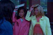 Ashlyn and Ashley at the Mckinley highschool