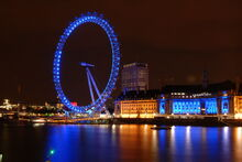 London Eye Night Shot