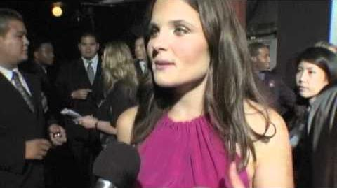 Ellen Wroe at the premiere of 'Final Destination 5'