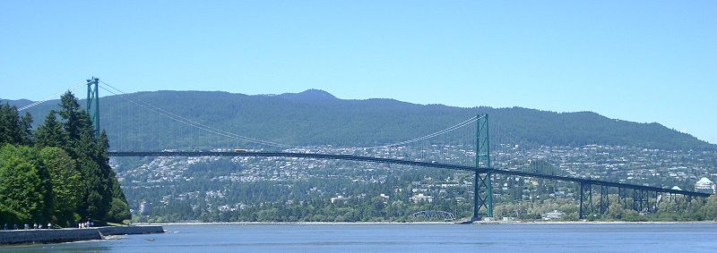 800px Lions Gate Bridge From Stanley Park