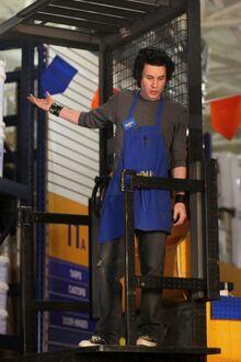 Ian on falklift