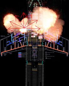 Flight 180 Explosion Trajectory Premonition