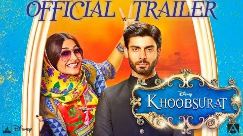 Khoobsurat Official Trailer Sonam Kapoor, Fawad Khan Releasing - 19 September