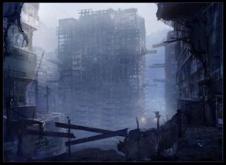 Apocalyptic ruins