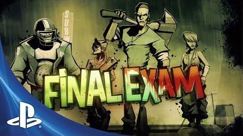 Final Exam Launch Trailer