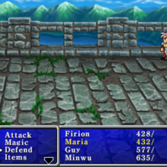 Maria as a toad in <i>Final Fantasy II</i> (PSP).