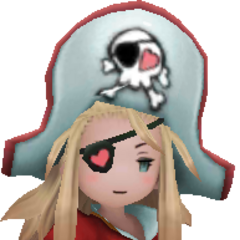 Edea Lee as a Pirate in <i>Bravely Second: End Layer</i>.