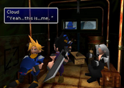 Cloud is the guard