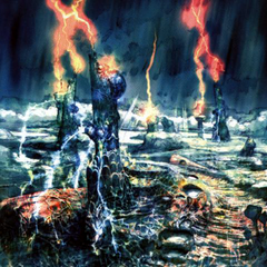 The Thunder Plains artwork for <i>Final Fantasy X</i>.