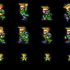 Set of Leo's sprites.