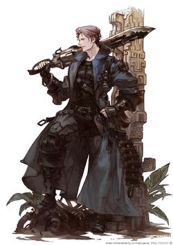 FFXIV Gunbreaker Art