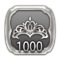 FFXIV One with Gold trophy icon