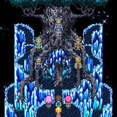Espírito de Dorgann aparece antes da batalha final.