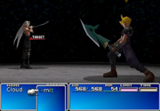 Final battle sephiroth ffvii