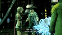 Lightning Snow Serah crystallized