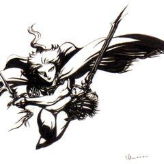 Versão em preto e branco da arte de <a href=