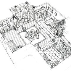 Дом Тифы в Нибельхейме.