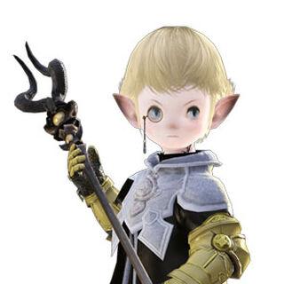 Render of Papalymo for the original <i>Final Fantasy XIV</i>.