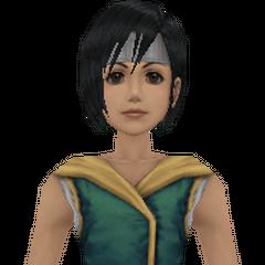 Модель в <i>Crisis Core -Final Fantasy VII-</i>.