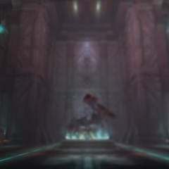 The loading screen for the Seventh Ark.