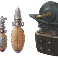 Alchemist's arms.