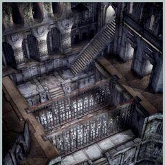 Alexandria Castle basement.