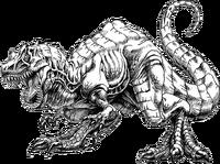 Archeosaurus art