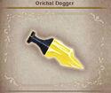 Bravely Default Orichal Dagger