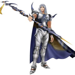 Render of Cecil's appearance as a Paladin (DS).