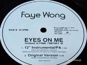 Eyes on me vinyl version
