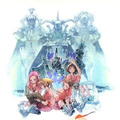 <i>Final Fantasy Tactics Advance Official Guide Book</i> cover.