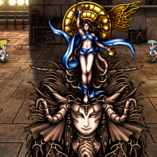 The Goddess in battle (iOS/Android/PC).