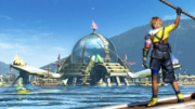 FFX HD Blitzball Stadium Luca