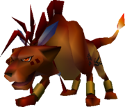 RedXIII-ffvii-battle