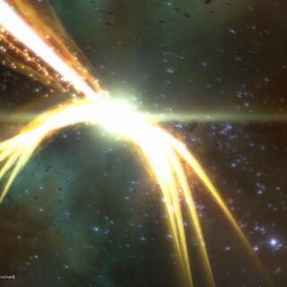 Zodiark's special attack Final Eclipse in <i>Final Fantasy XII</i>.