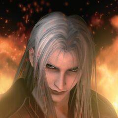 Сцена в <i>Final Fantasy VII: Advent Children</i>.