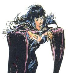 Vampire Girl (full-colored).