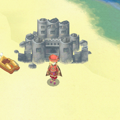 Damcyan as it appears on the world map (iOS).