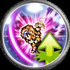 Icon for Seiken Climhazzard version in <i>Final Fantasy Record Keeper</i> [FFIX].