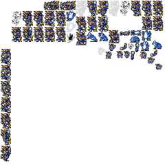 Warrior of Light's spritesheet.