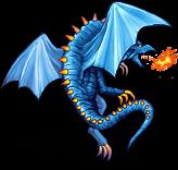 FFV Drago blu IOS