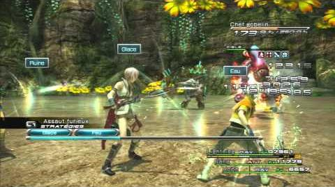 Final Fantasy XIII Combat contre Héros gobelours
