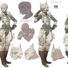 Concept artwork of Qun'mi.