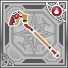Flame Staff in <i>Final Fantasy Airborne Brigade</i> (R+).